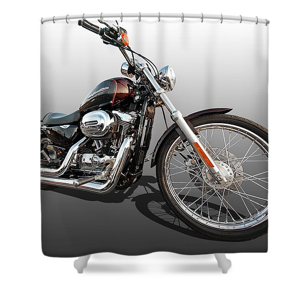 Harley Sportster Xl1200 Custom Shower Curtain