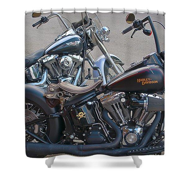 Harleys Shower Curtain