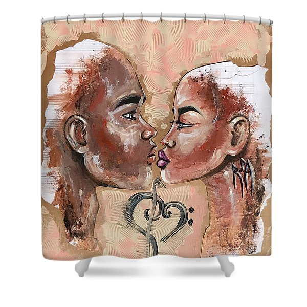 Harmonies Shower Curtain