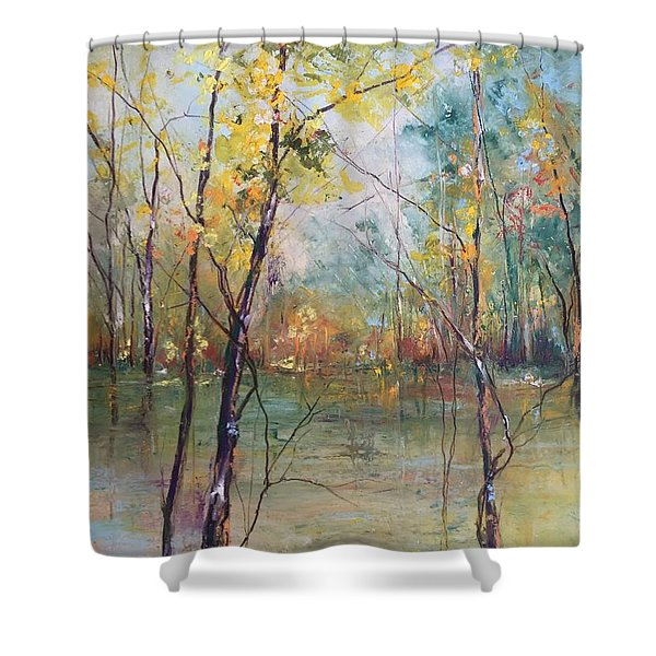 Harmony In Perfect Key Shower Curtain