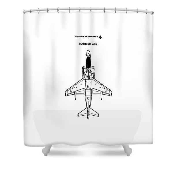 Harrier Gr5 Shower Curtain