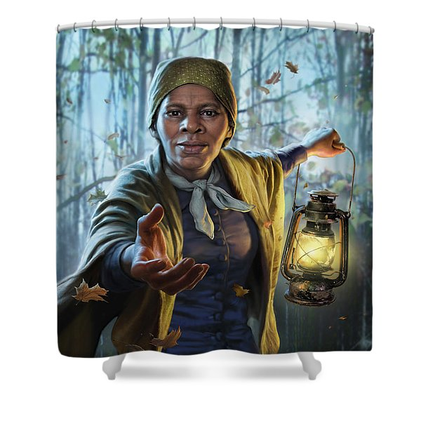 Harriet Tubman Shower Curtain