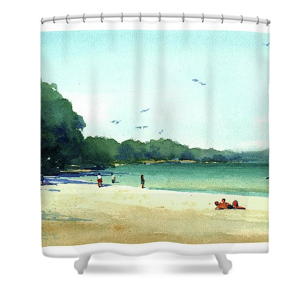 Harrington Beach, Wisconsin Shower Curtain