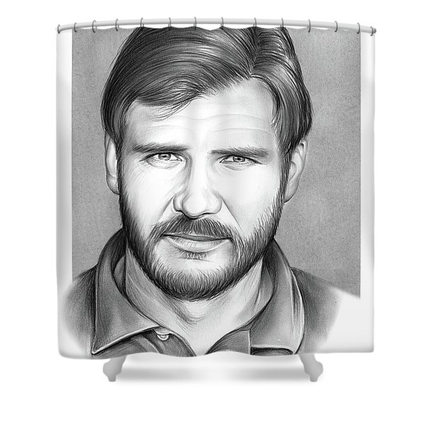 Harrison Ford Shower Curtain