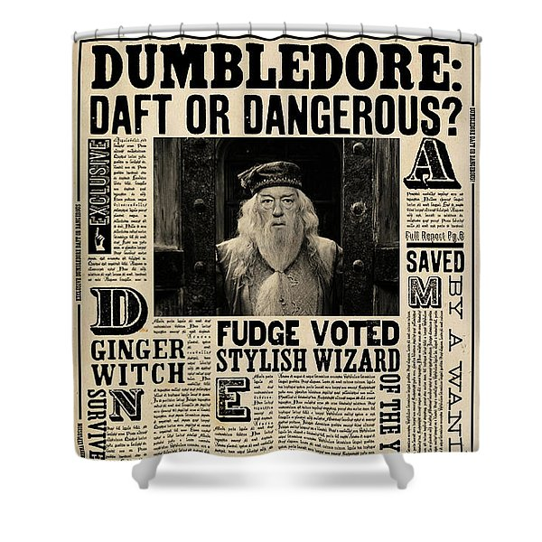 Harry Potter And The Half-blood Prince 2009 Shower Curtain
