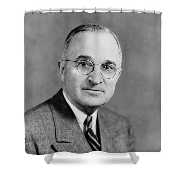 Harry Truman - 33rd President Of The United States Shower Curtain