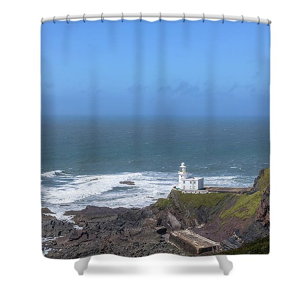 Hartland Point - England Shower Curtain