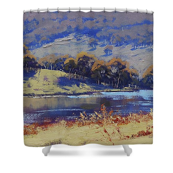 Hartley Dam Shower Curtain