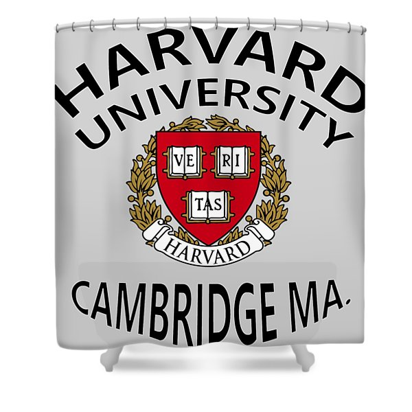 Harvard University Cambridge M A  Shower Curtain