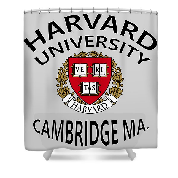 Harvard University Cambridge M A  Shower Curtain