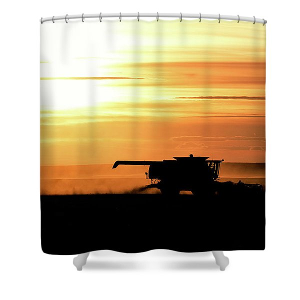 Harvest Burn Shower Curtain
