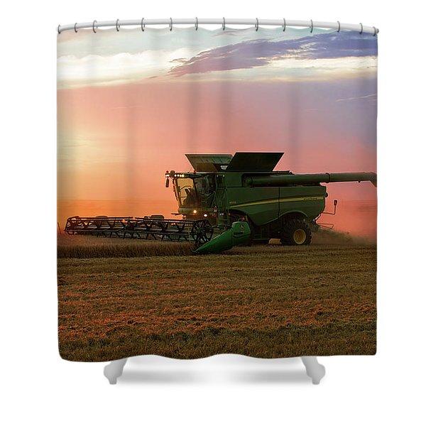 Harvest Colors Shower Curtain