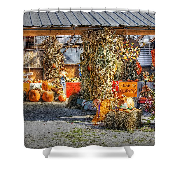 Harvest Days Shower Curtain