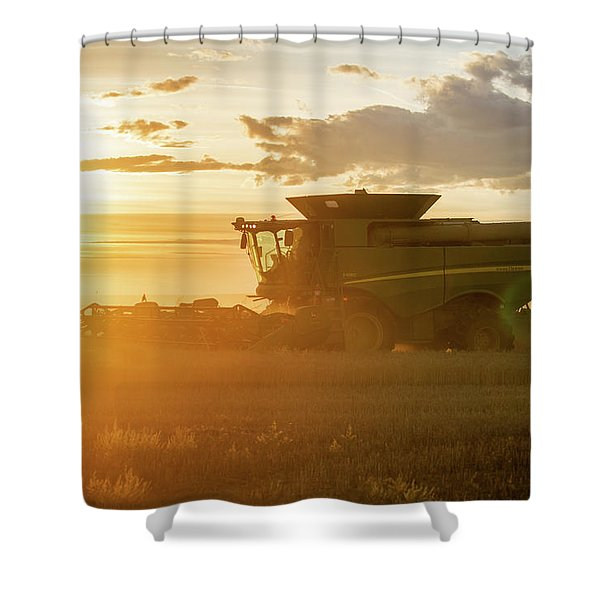 Harvest Sun Shower Curtain