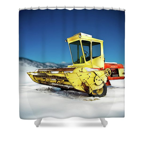 Harvester Shower Curtain