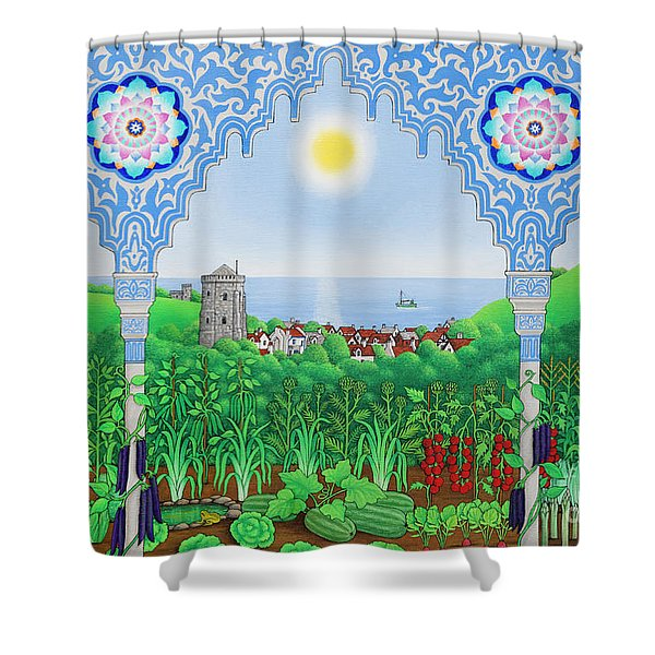 Hastings Allotments Shower Curtain