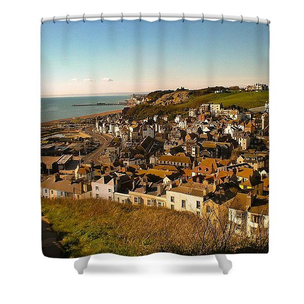 Hastings, Sussex, England Shower Curtain