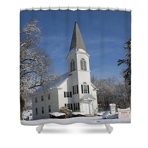 Hauppauge United Methodist Church  Shower Curtain