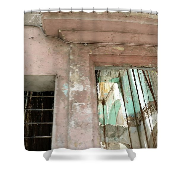 Havana Texture Shower Curtain