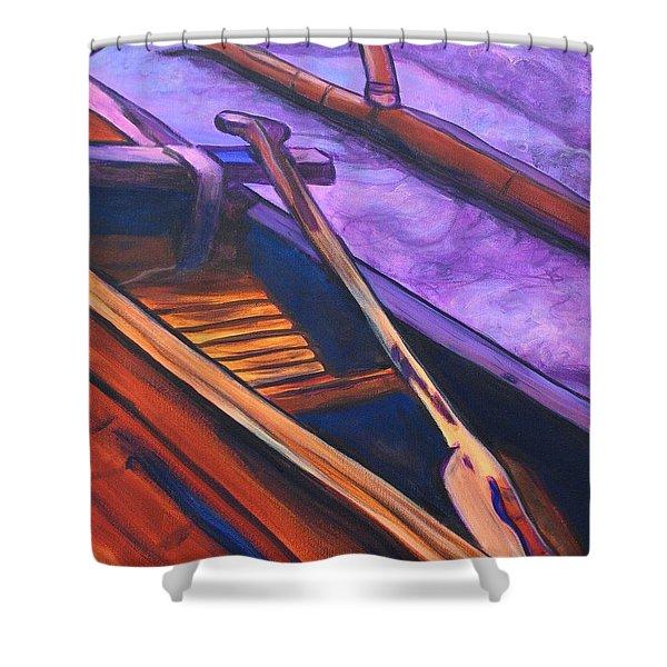 Hawaiian Canoe Shower Curtain