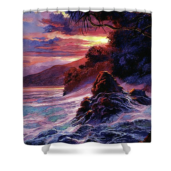 Hawaiian Sunset - Kauai Shower Curtain