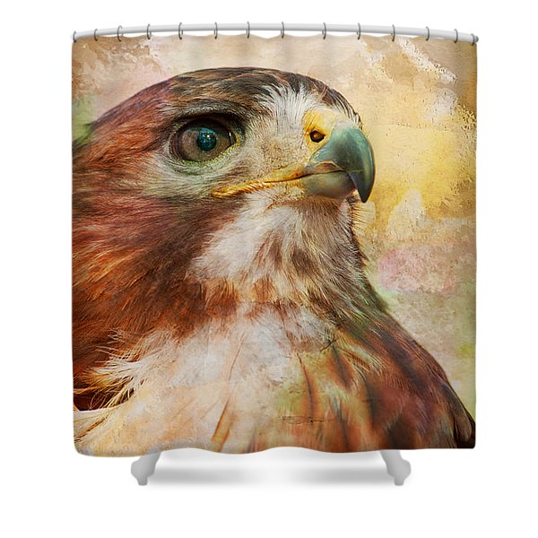 Hawk Wc Shower Curtain