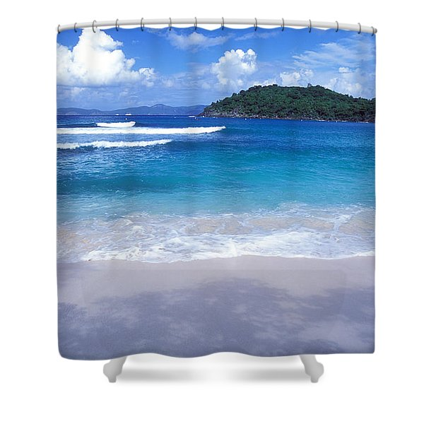 Hawksnest Bay 6 Shower Curtain