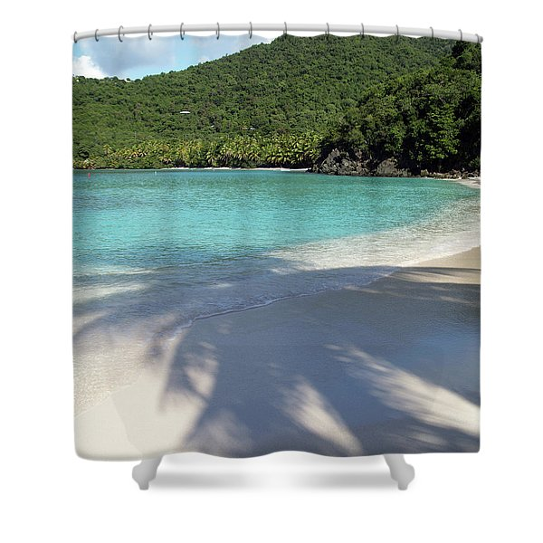 Hawksnest Bay And Gibney Beach Shower Curtain