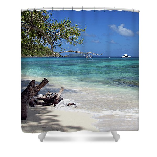 Hawksnest Bay 1 Shower Curtain