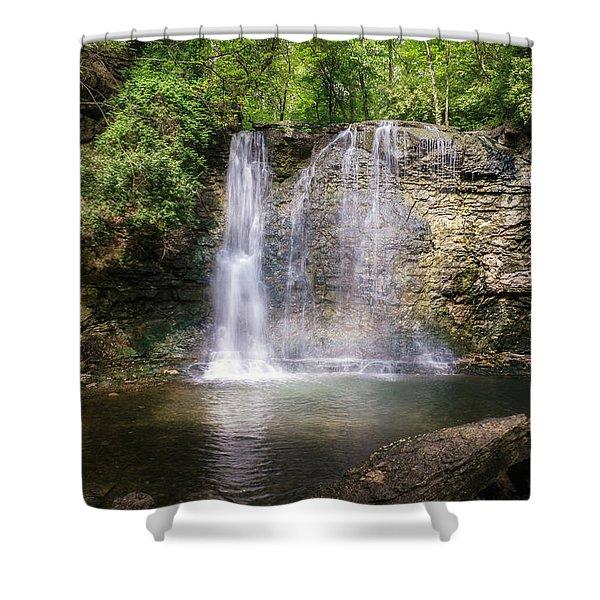 Hayden Run Waterfall Shower Curtain