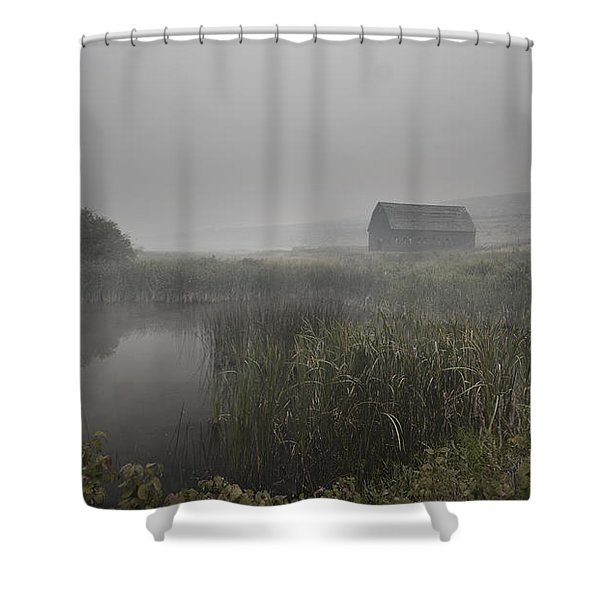 Haynes Ranch Predawn Shower Curtain