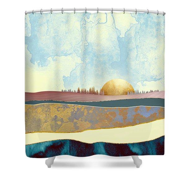 Hazy Afternoon Shower Curtain