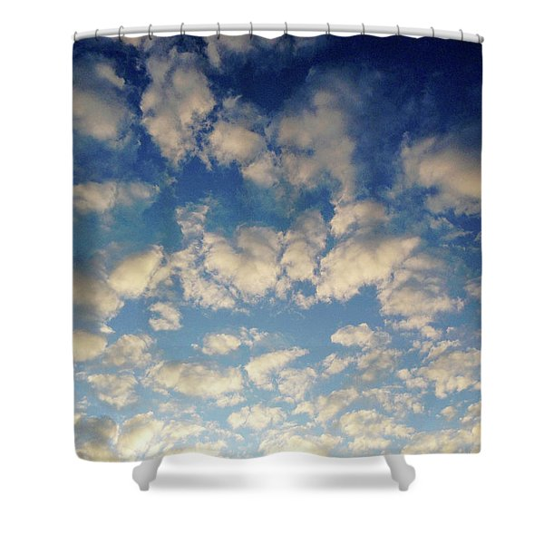Head In The Clouds- Art By Linda Woods Shower Curtain