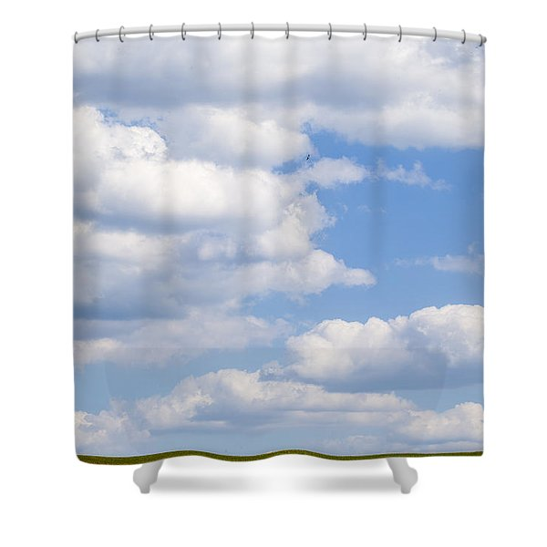 Head In The Clouds Shower Curtain