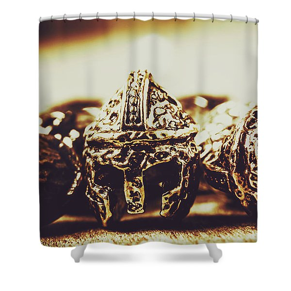 Headdress Of Medieval Antiquity Shower Curtain