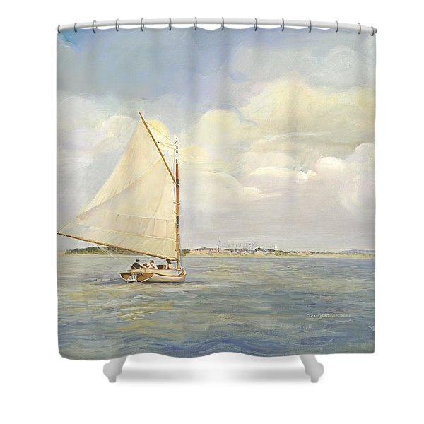 Heading East Shower Curtain