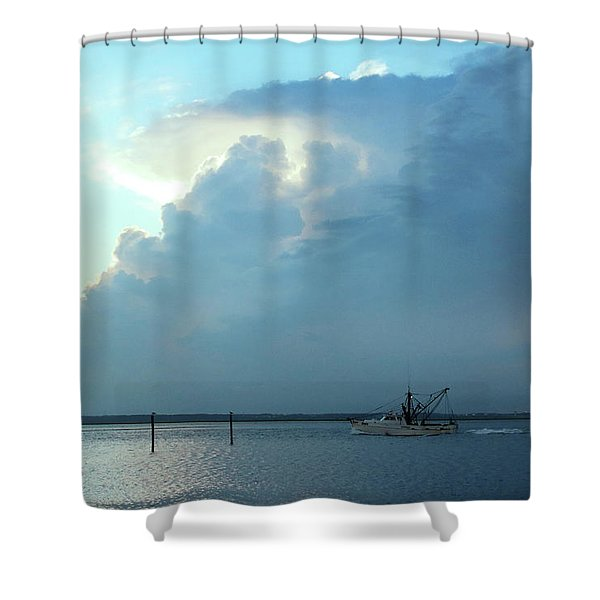 Heading Out Of The Storm Shower Curtain