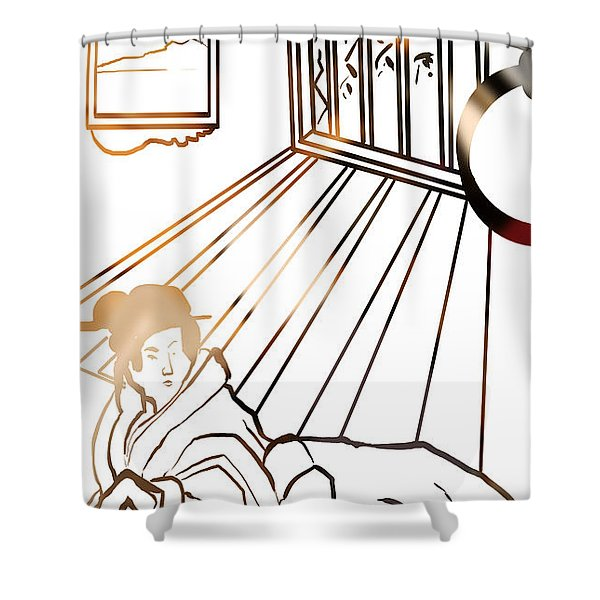 Healing . Energy Shower Curtain