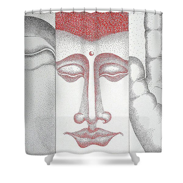 Healing Shower Curtain