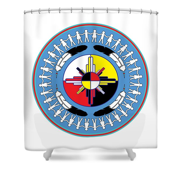 Healing For All Shower Curtain