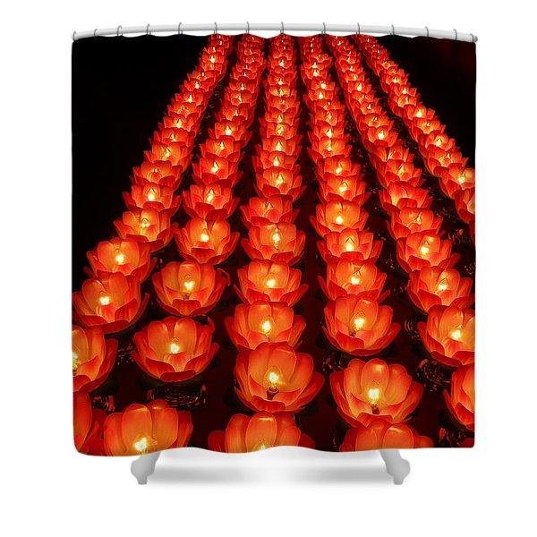 Healing Lights 1 Shower Curtain