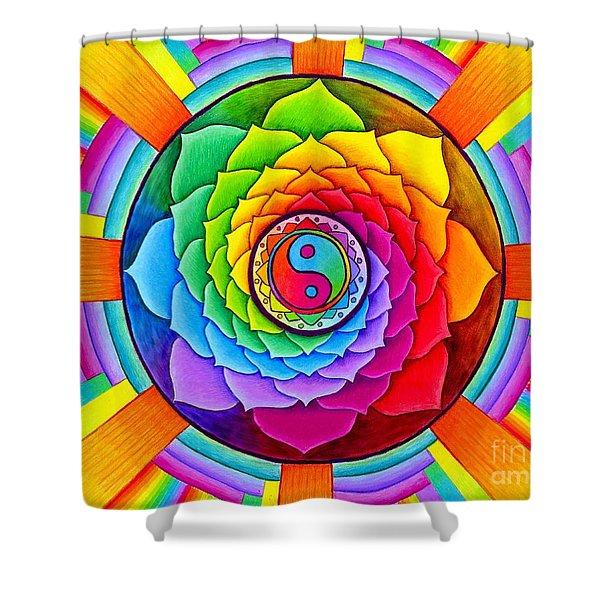 Healing Lotus Shower Curtain