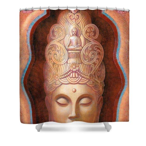Healing Tara Shower Curtain