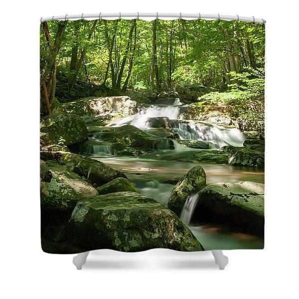 Healing Waters Shower Curtain
