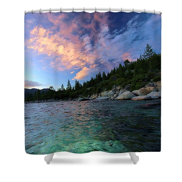 Shower Curtain featuring the photograph Healing Waters by Sean Sarsfield