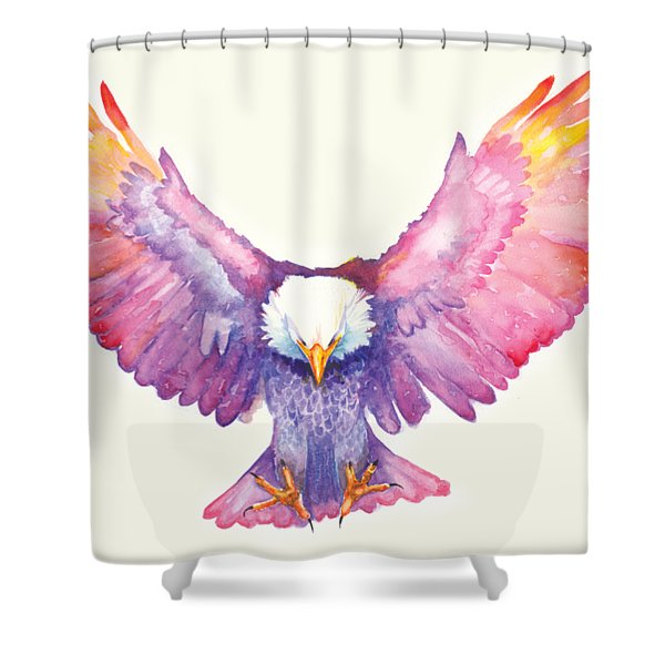 Healing Wings Shower Curtain