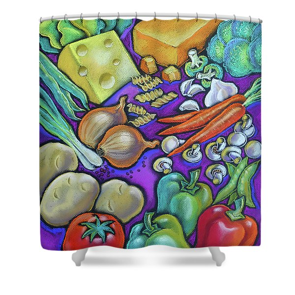 Health Food For You Shower Curtain