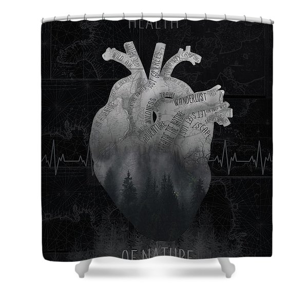 Health Of Nature 3 Shower Curtain