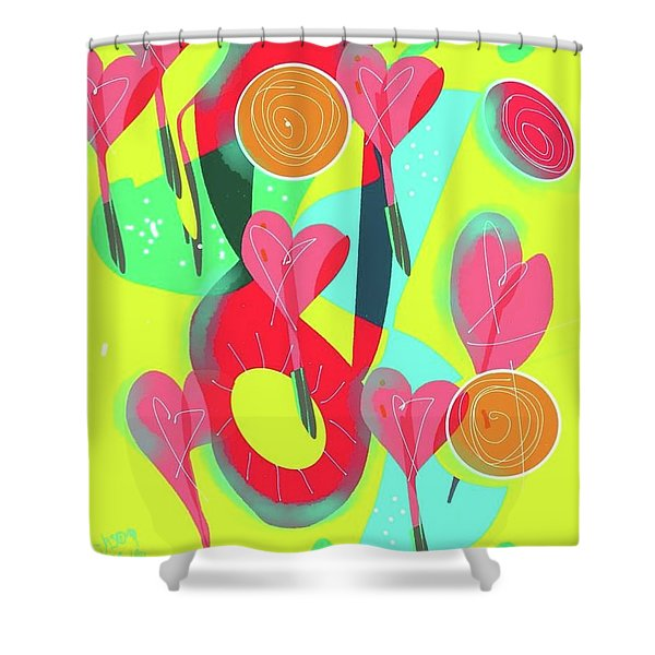 Heart Attack Shower Curtain