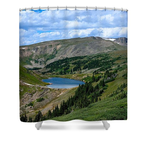 Heart Lake In The Indian Peaks Wilderness Shower Curtain